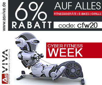 Fitnessgeräte Black Week Deals