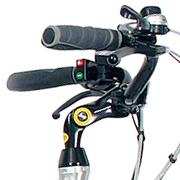 Elektro Hollandrad mit verstellbaren Lenker
