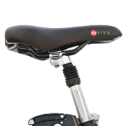Adjustable sports saddle