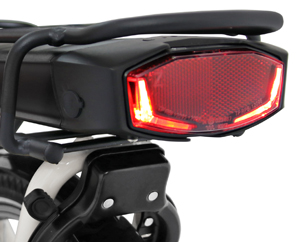 B14 Electric Dutch bike with brake light