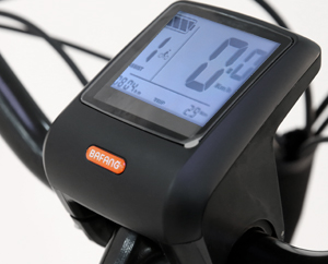 B14 Electric Dutch bike with Bafang bike computer