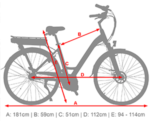 28 e bike b14 citybike tiefeinsteiger 36v 13ah elektro hollandrad mittelmotor ebay. Black Bedroom Furniture Sets. Home Design Ideas