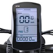 B16 Elektro Mountainbike - eBike mit E700 Fahrradcomputer