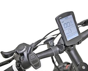 B16 Elektro Mountainbike - eBike mit MTB Computer und Fernbedienung