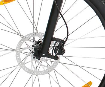 B16 Elektro Mountainbike - eBike mit Hydraulik Scheibenbremsen