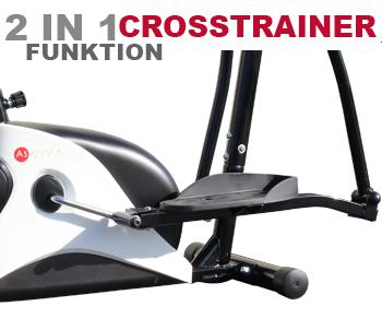 C16 Crosstrainer-Funktion für das effektive Training