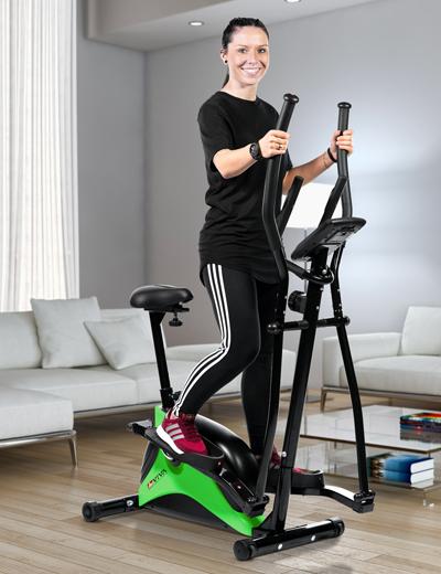 Crosstrainer und Heimtrainer - Der Fitness-Allrounder