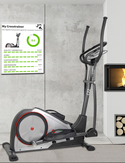 Crosstrainer und Stepper C22 - Fitness ohne Kompromisse