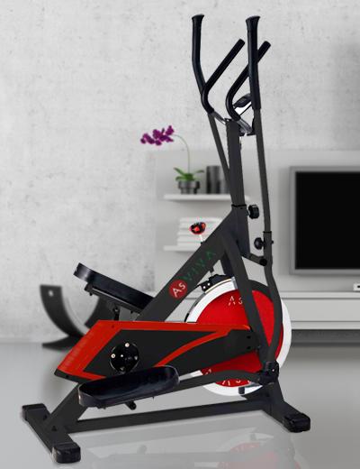 Crosstrainer & Ergometer - Fitnesstraining mit App Funktion