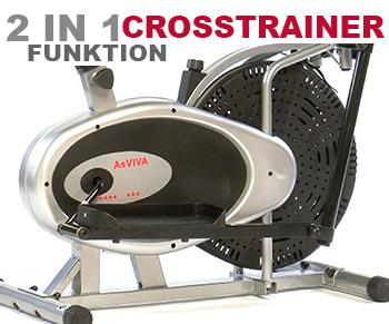 C8 Crosstrainer-Funktion für das effektive Training
