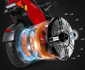 EM2 Elektro-Motorroller mit modernem Design