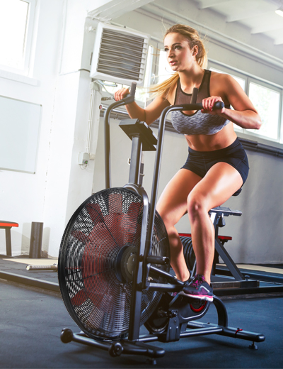 The Air Bike ergometer for professional athletes
