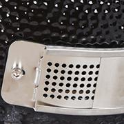 Ceramic grill cover