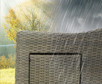 Wetterbeständiges Polyrattan
