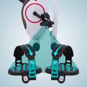 Sicheres Training durch antirutsch-Pedale