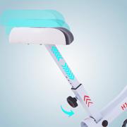 H14 height-adjustable upholstered saddle
