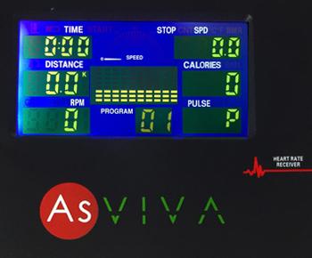 Der H19 Heimtreiner besitzt 5 Programme die allein für das Herztraining zuständig sind.