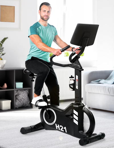 Ergometer and Exercise Bike - the fitness all-rounder