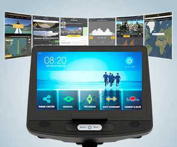 H21 tablet and mobile compatible fitness computer