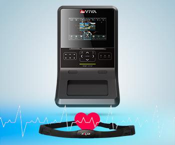 Der H17 Heimtrainer besitzt 5 Programme die allein für das Herzkreislauf-Training zuständig sind.