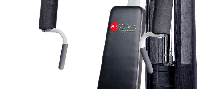 Kraftstation und Multi-Gym von AsVIVA