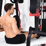 Multi-Gym mit Ruderzug
