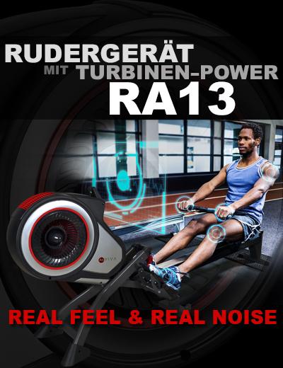 RA13 das Rudergerät mit Turbinen-Technik.