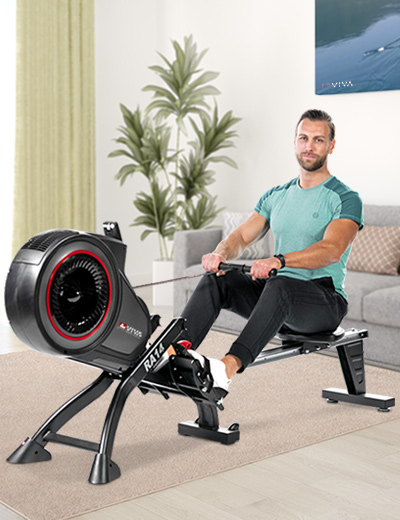 RA14 the rowing machine with Super-Silent technology.