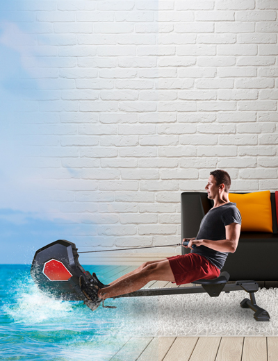 RA16 the rowing machine with Super-Silent technology