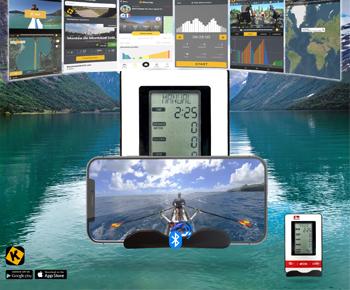 S15 Tablet und Handy kompatibler Fitnesscomputer