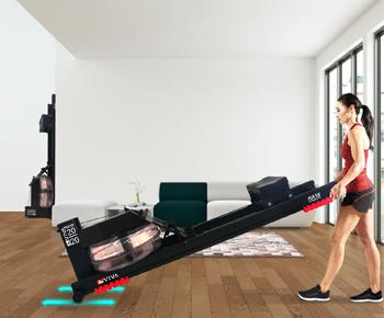 Permanent-Magnetbrese und Widerstandssystem für ein flüsterleises Training