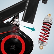 S11 X-Speedbike-Federsystem