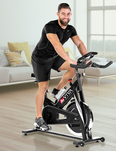 Indoor cycle and speed bike - fitness training with app functionality