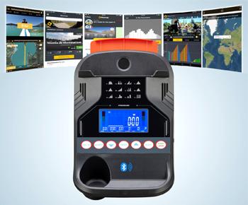 ST4 Tablet und Handy kompatibler Fitnesscomputer