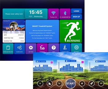 T11 Tablet und Handy kompatibler Fitnesscomputer