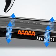 Seitentrittflächen für einen einfachen Einstig des Laufbandes.