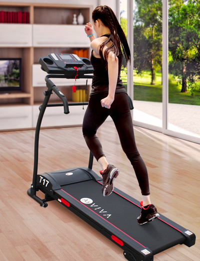 T17 home exercise trainer - fitness with the wonder treadmill