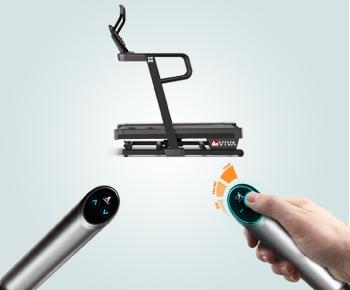 One-Touch Speed und Incline