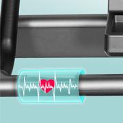 Trainingskontrolle mit Handpulssensoren.