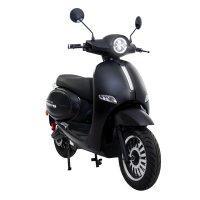 Elektro-Motorroller AsVIVA EM2 schwarz