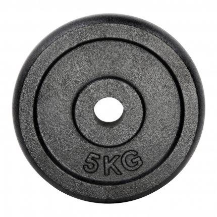 Hantelscheibe 5 kg Gusseisen 30 mm AsVIVA HS2_3_5