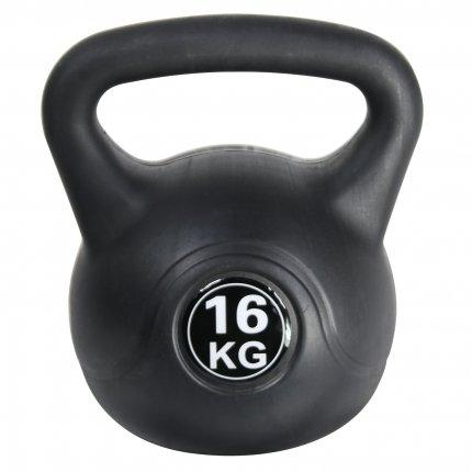 16 kg Kettlebell AsVIVA KB1_16 kunststoffummantelt