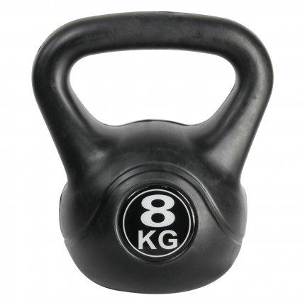 8 kg Kettlebell AsVIVA KB1_8 kunststoffummantelt