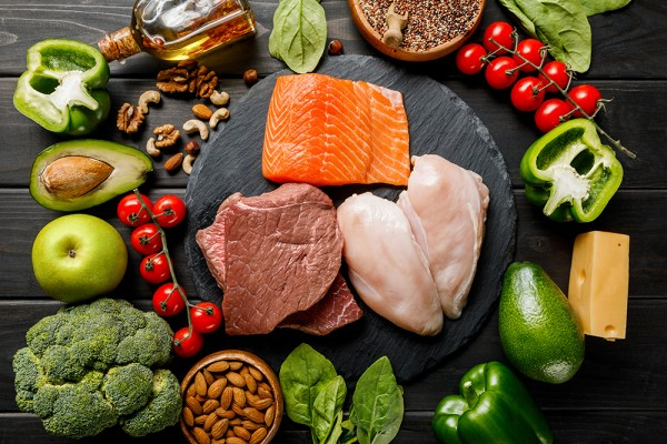 Lebensmittel Low-Carb-Ernährung