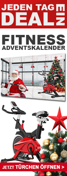 Adventskalender für Fitnessgeräte, E-Bikes, Keramikgrills und Gartenmöbel im AsVIVA Online Shop