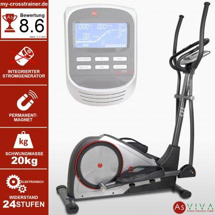 AsVIVA Crosstrainer Ergometer C22