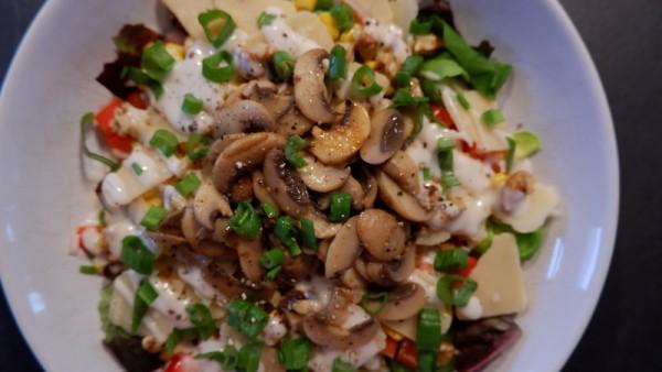 Salat-mit-Champignons-und-Parmesan