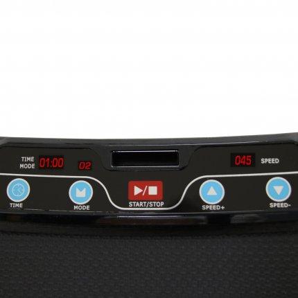 AsVIVA Vibrationsplatte Vibrationstrainer V8 Vibro-Plate Fitnesscomputer