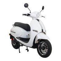 Elektro-Motorroller AsVIVA EM2 weiß