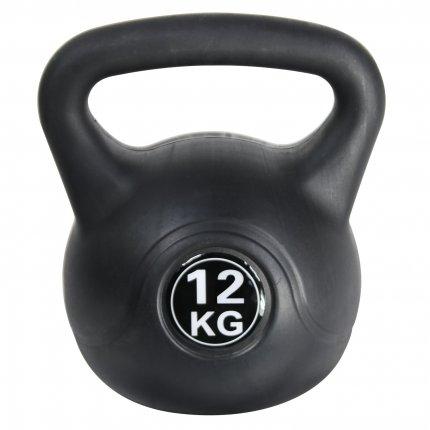 12 kg Kettlebell AsVIVA KB1_12 kunststoffummantelt